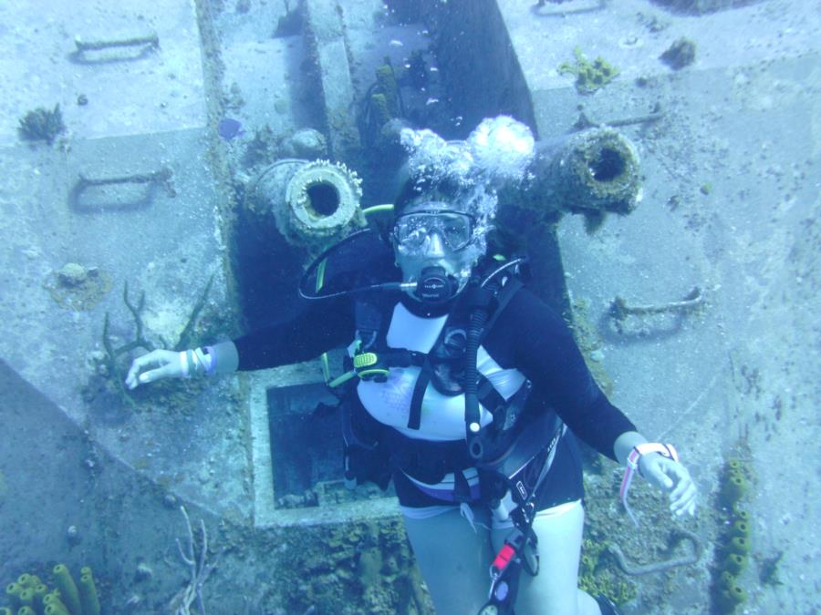 Capt. Tibbets Wreck. Cayman Brac