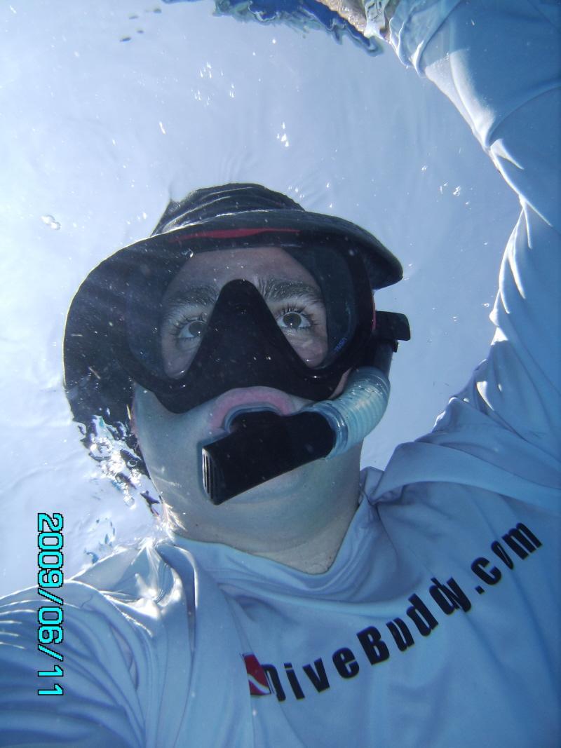 Greg Snorkeling - Cozumel 09