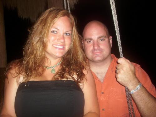 Becky and I in Cozumel 2009