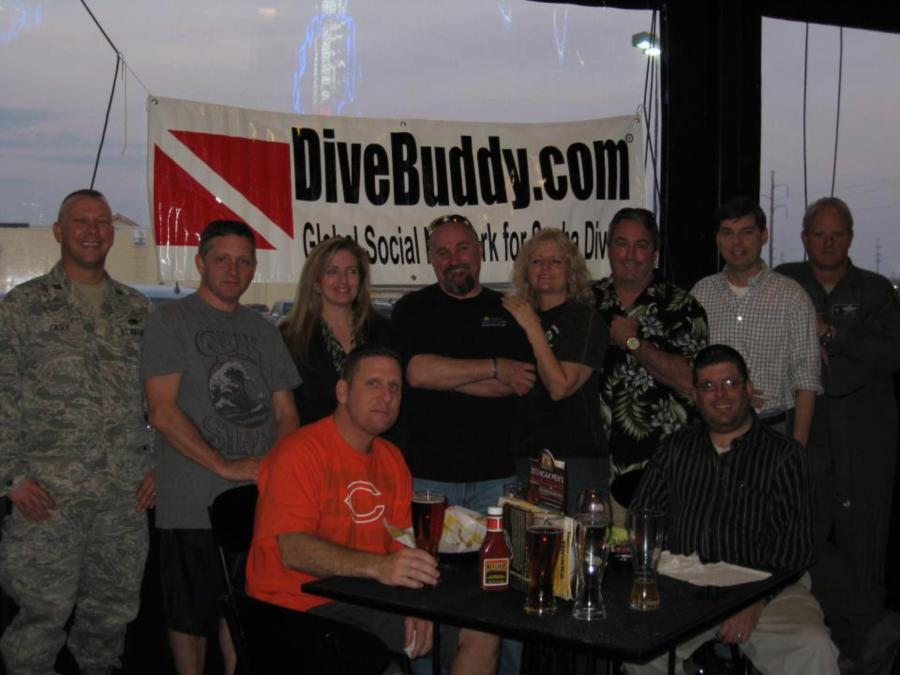 DiveBuddy Meet and Greet - I love seeing photos like this