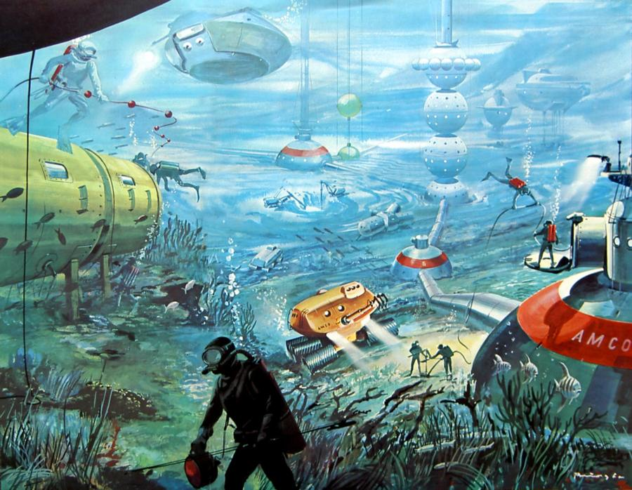 Underwater Colony - Artist Conception