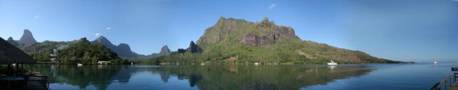 Cook's Bay in Moorea, French Polynesia