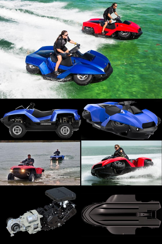 QuadSki - Amphibious Personal Watercraft - $39,990