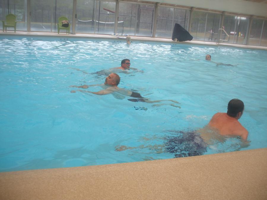 500 yard swim