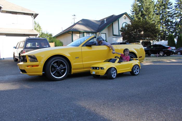 Cruising with Grandson