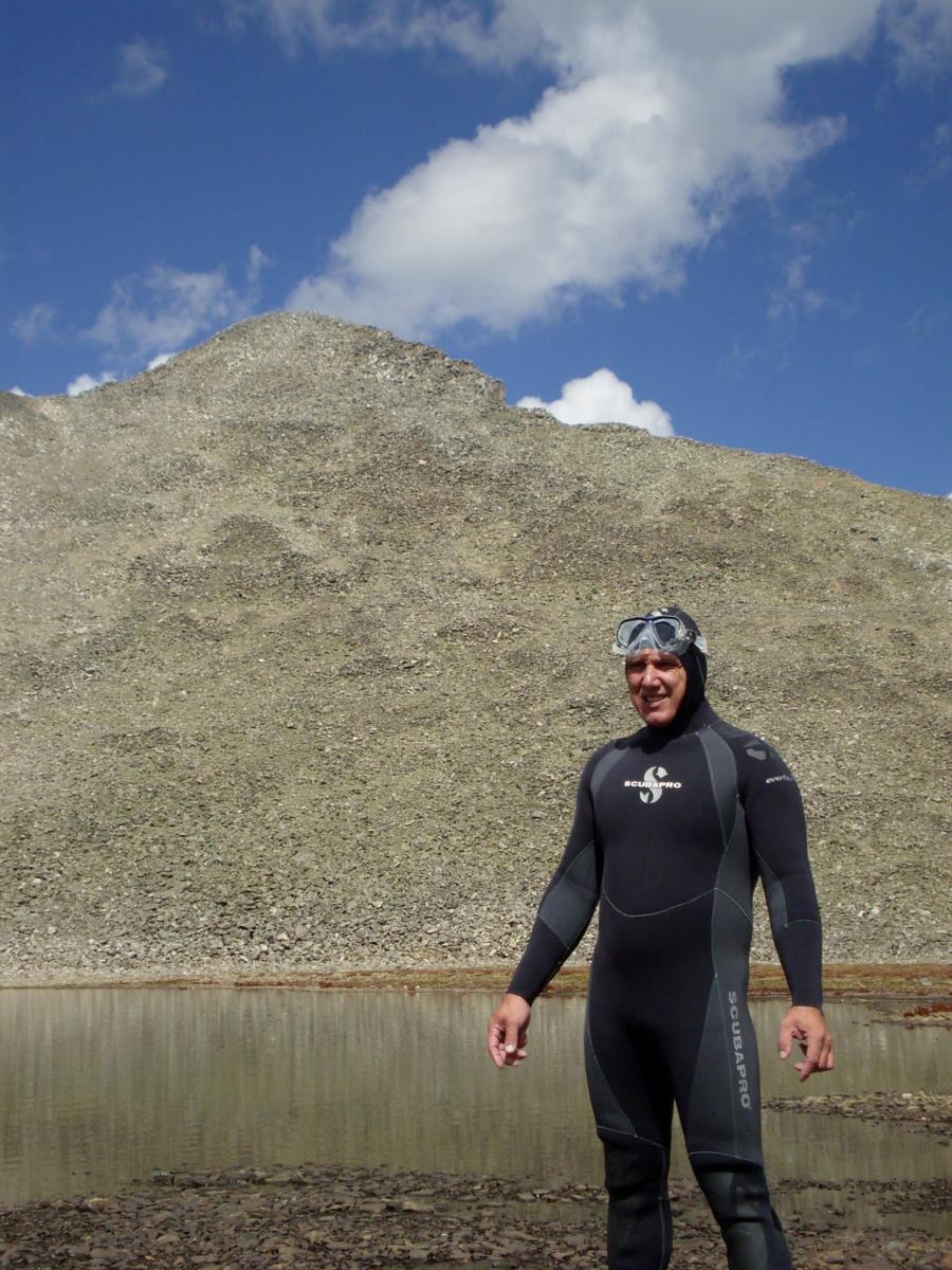 Pacific Tarn Lake 13,420 ft.
