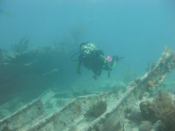 Diving in South Florida