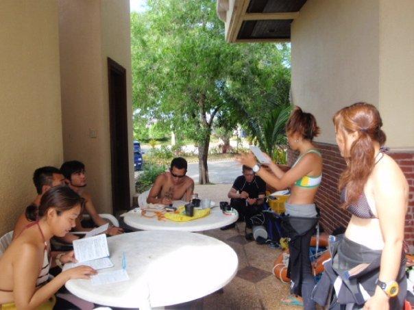 IDC open water training
