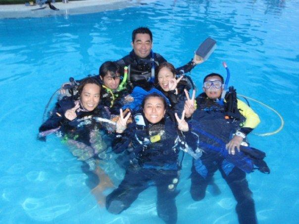 IDC after confined water training