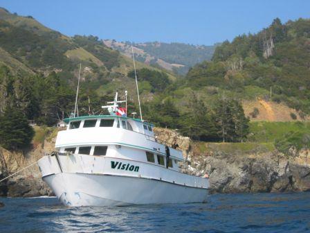 Vision, Big Sur Dive Trip