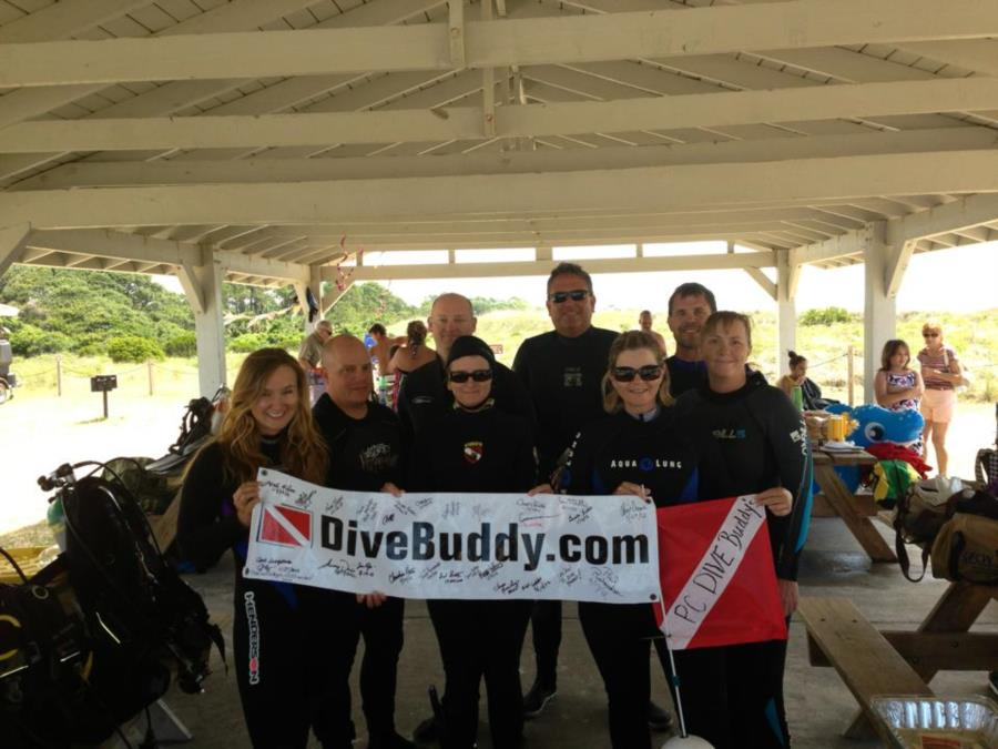 Jetty dive with DiveBuddy.com