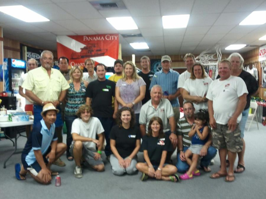 1st Meet N Greet at PC Dive Charters