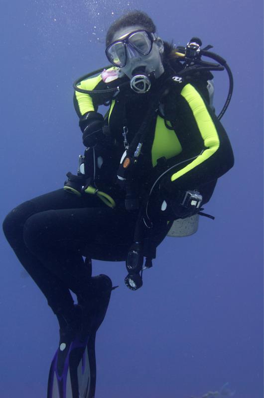 A hammy diver