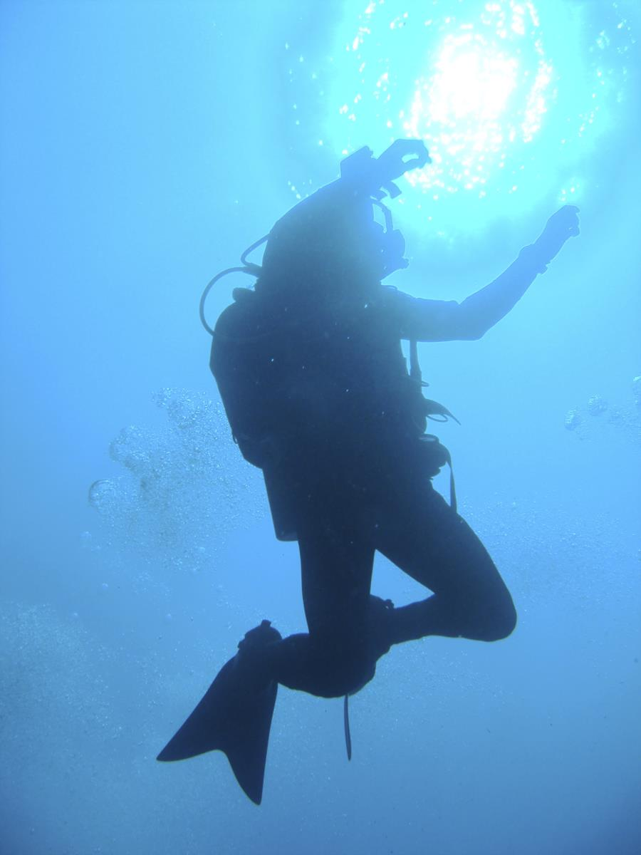 Me - Blue Hole, Dahab
