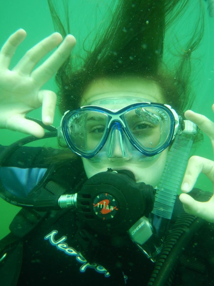 My Newest Dive Buddy...My Daughter :-)
