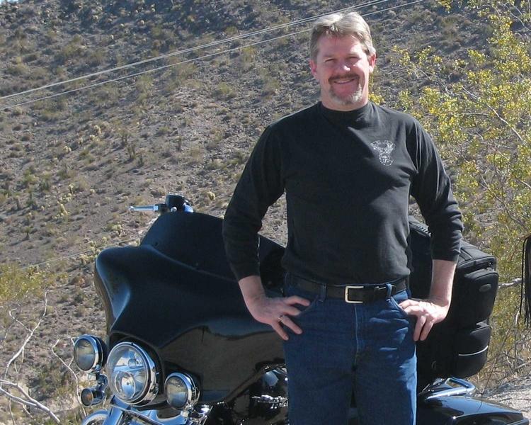 Cruising around the hills above Bullhead City Arizona