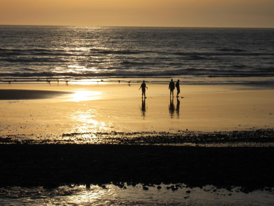 Sunset...on the coast