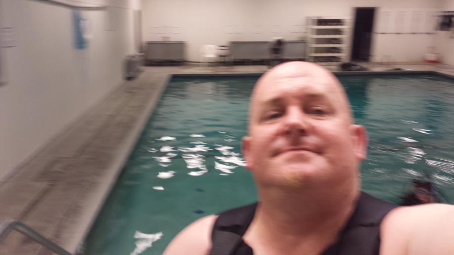 me at my pool dives