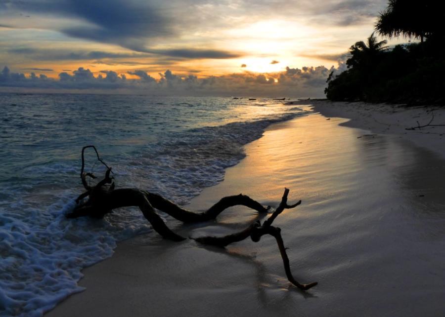 Ritidian Beach sunrise, Guam