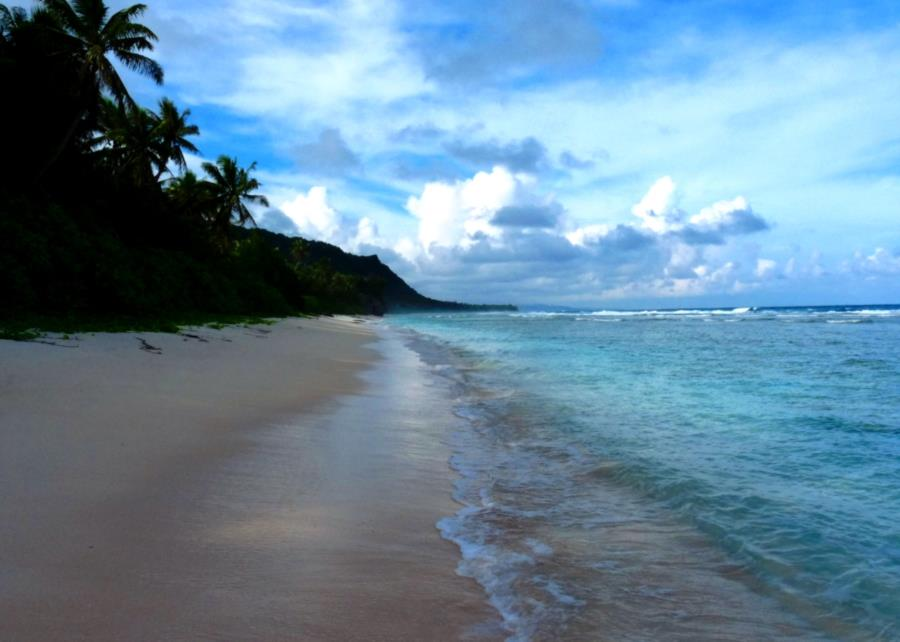 Ritidian Beach, Guam National Wildlife Refuge