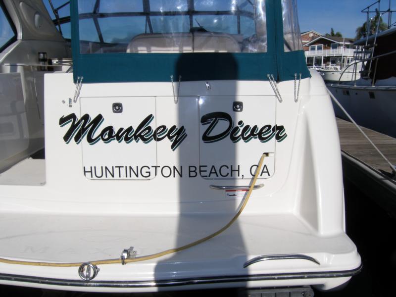 My boat Monkey Diver