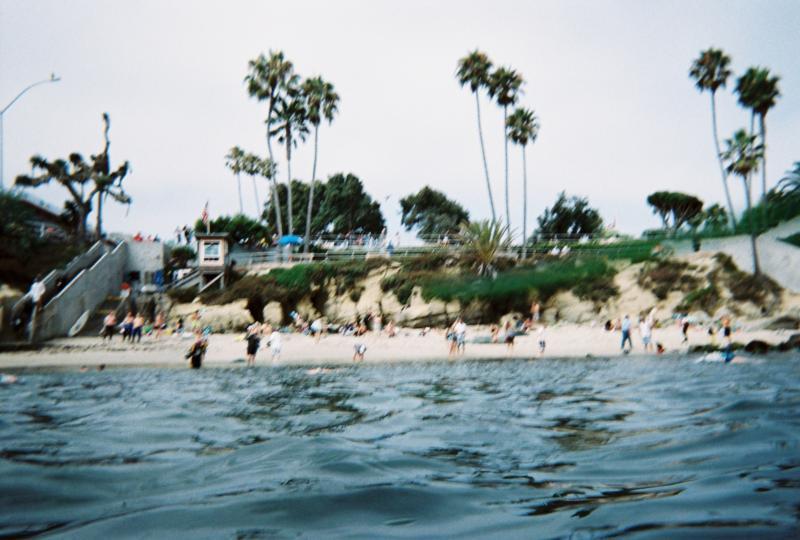 La Jolla Cove near San Diego, CA