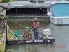 the mighty shrimp tug boat miniature