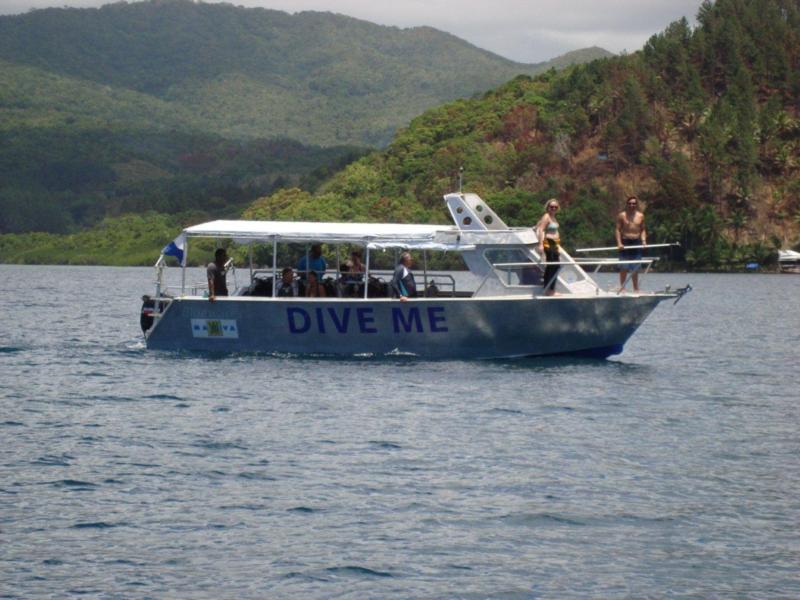 DIVE ME, Matava's new dive boat
