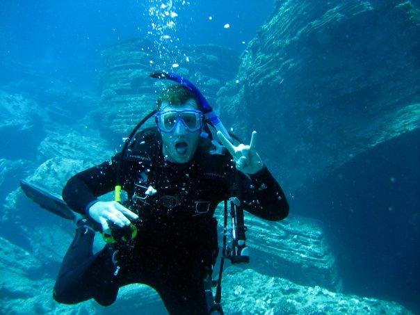 Diving Niihau