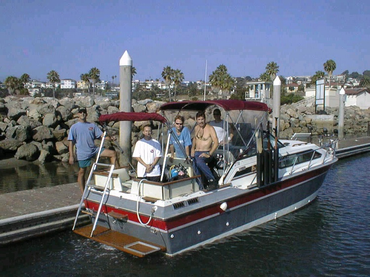 Gettin ready for another ocean trip, full of fuel & 13 tanks