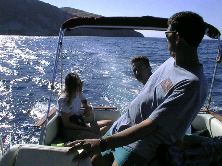 Another calm day out in the ocean, Catalina Island