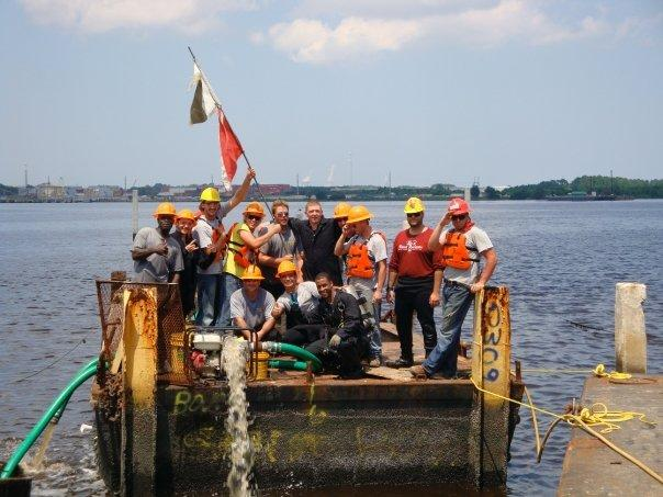 Barge Salvage(CDA) Set a school record