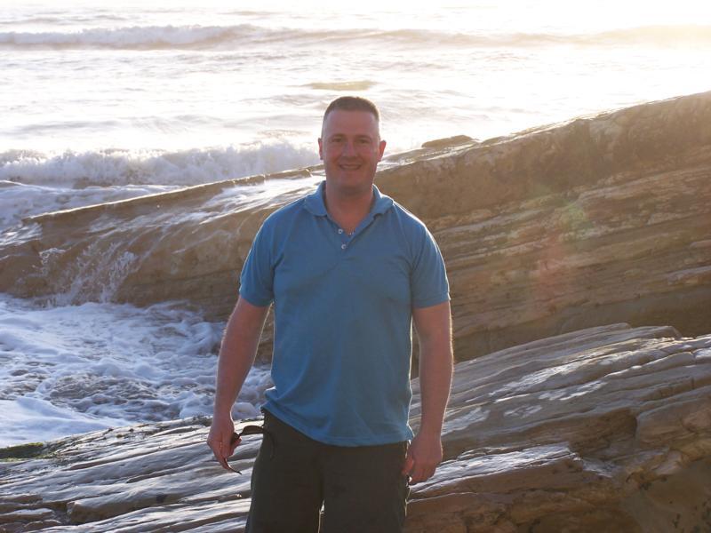 Me at Pacific Ocean in California