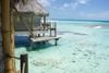 view out of our bungalow,Tikehau, French Polynesia 2004 (c) 2004
