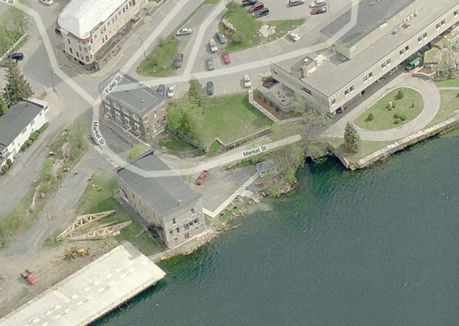 Site of the Islander wreck, Alex Bay, NY