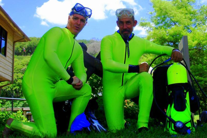 Aquarena Springs Science Divers