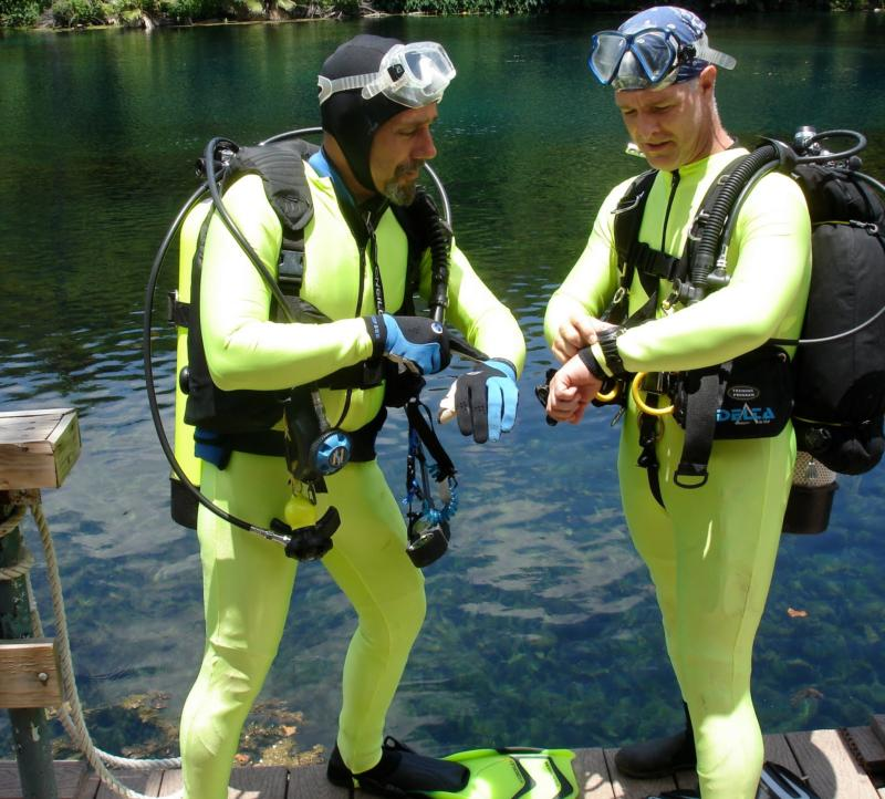 Aquarena Springs Science Divers