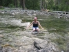 Where`s my wetsuit?...THIS water`s COLD!!!!  Icicle River in WA