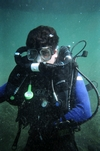 Rebreather Trial Dive at Scuba In The Park, Brockville, ON
