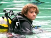 Daniel during our certification dive at Morrison Springs, Dive # 3