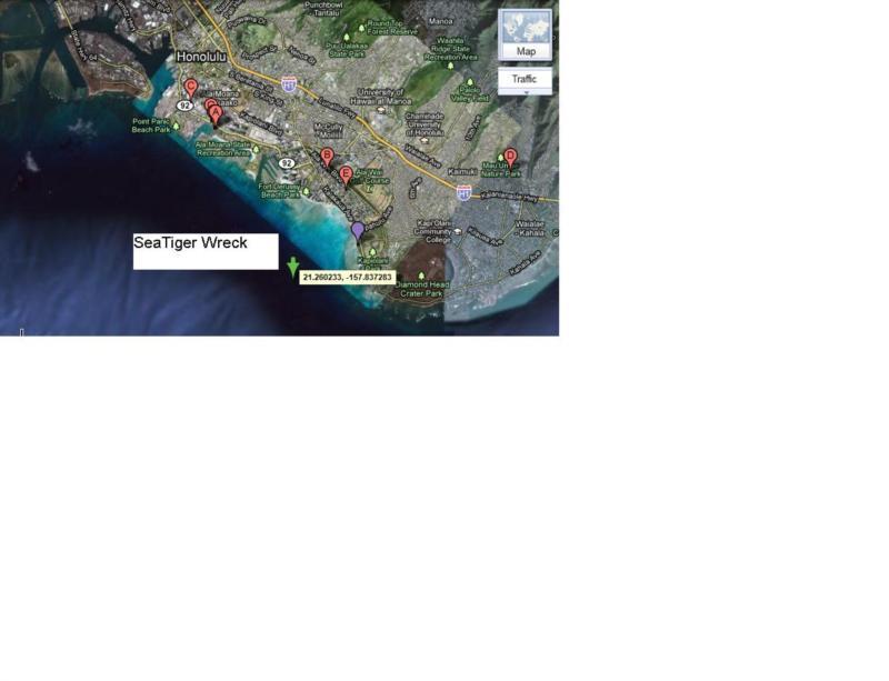 Sea Tiger Wreck - Waikiki