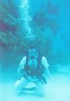 Diving off San Salvador Island, Bahamas