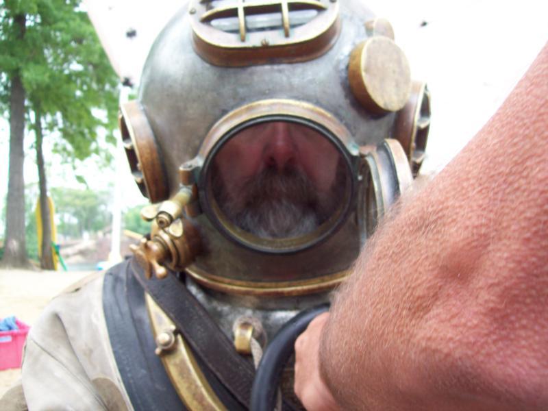 Mark V diving