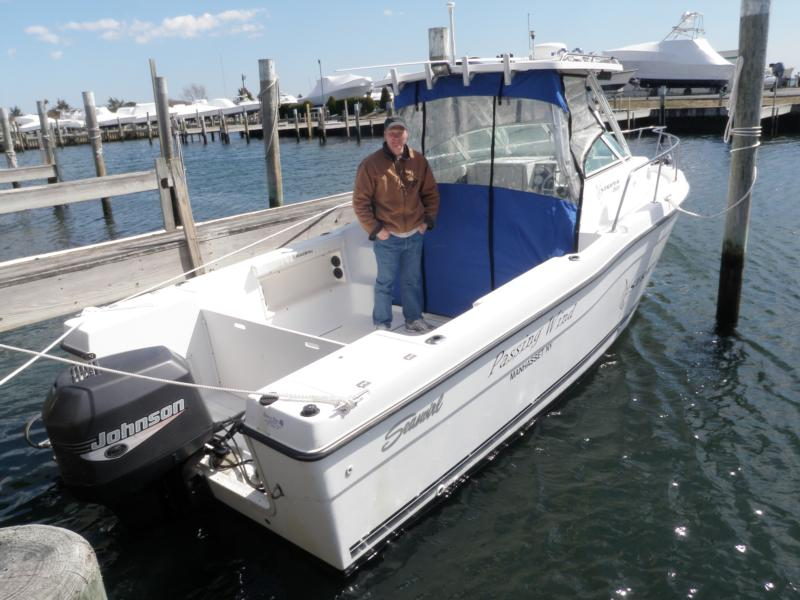 2011 Dive Boat w Bryan