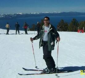 Scuba diving Lake Tahoe style...