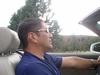 Me topless scuba driving in Sedona