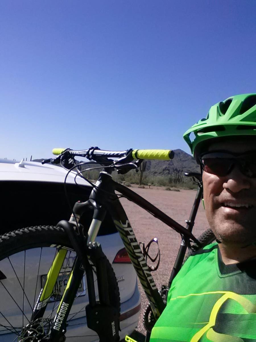 Mtn Biking in Arizona