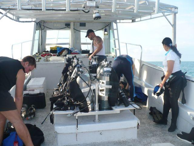 Pre Dive Set up