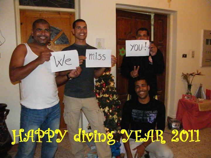HAPPY diving YEAR 2011