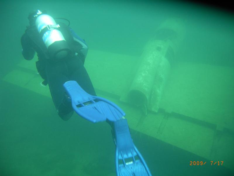 Diving at Gilboa Quarry, OH